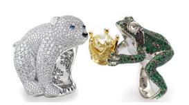 Creations from Chopard's Animal World collection