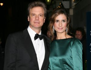 Colin Firth and Livia Firth. Photo source Ecorazzi.com