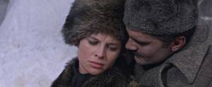 Julie Christie as Lara and Omar Sharif as Yuri Zhivago. Photo courtesy Warner Bros. Entertainment