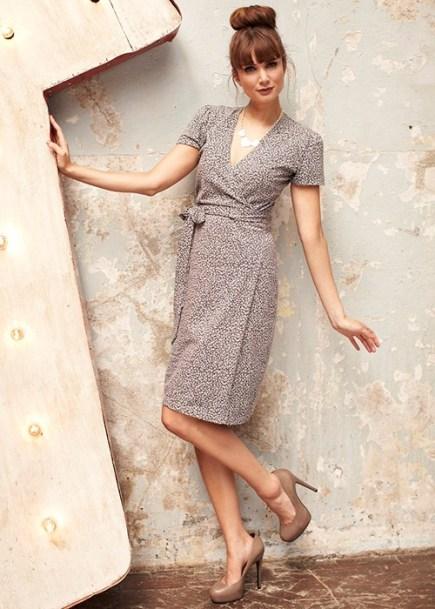 Lisa leopard print dress by People Tree