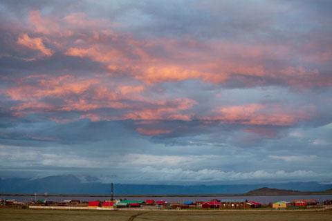 Mongolian landscape. Photo Lawrence Hislop.