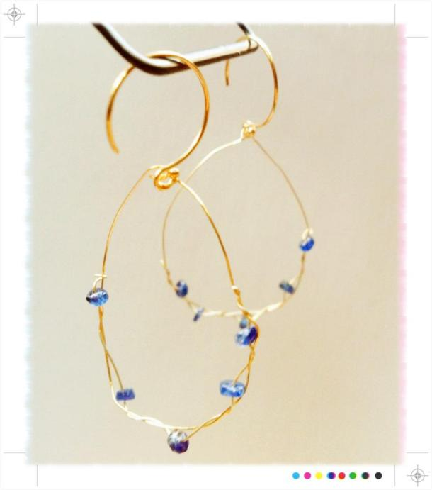 """""""Bird Nest"""" earrings by Moonshined Designs, an ethical and sustainable jewellery brand."""