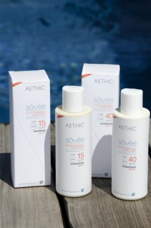 Sôvée marine-positive sunscreen by Aethic