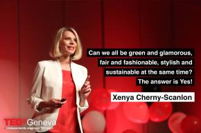 Talking Slow Fashion at TEDxGeneva2017