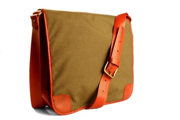 The Elvis & Kress Military Messenger Bag.
