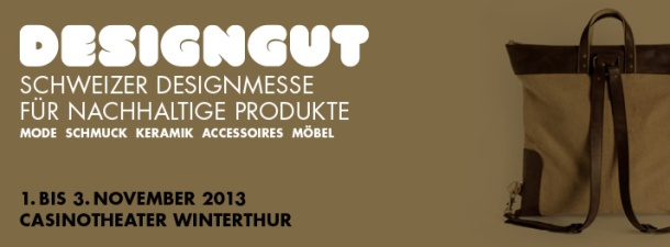 Designgut is Switzerland's sustainable design exhibition and conference.