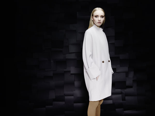 Coat by Swiss brand Berenik.
