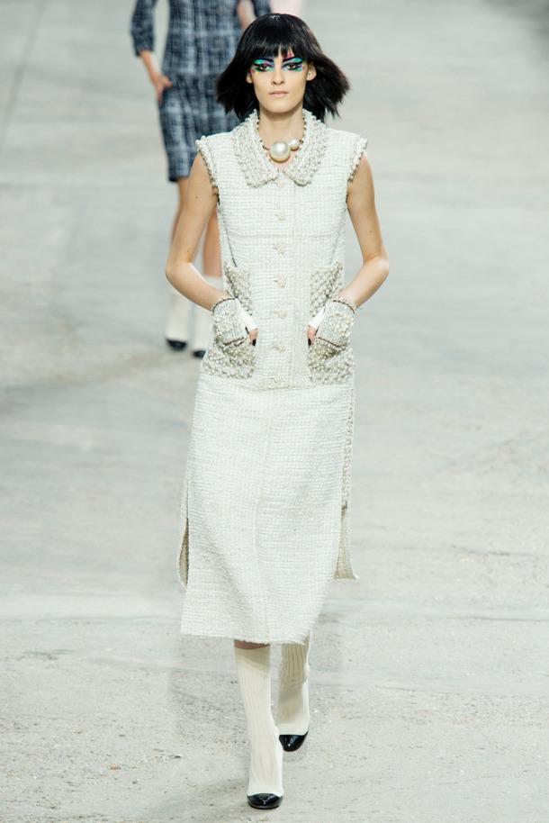 Chanel runway at the 2013 Paris Fashion Week. Photo via Style.com.