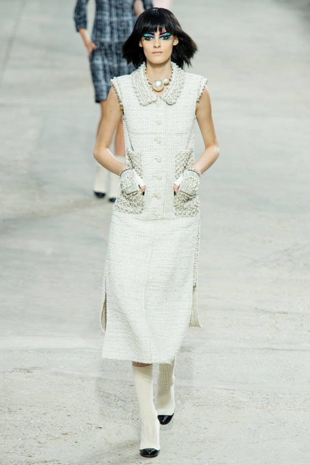 Chanel runway at the 2013 Paris Fashion Week. Photo via Style.com.
