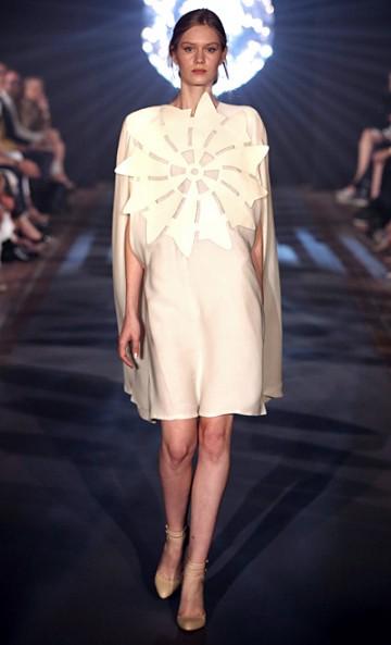 Kaviar Gauche S/S 2014 collection. Photo via the Mercedes Benz Fashion Week Berlin.