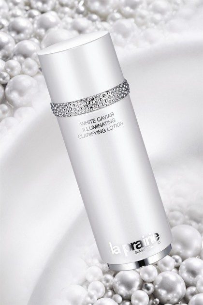 La Prairie uses caviar for its luxury skincare range. Photo via Luxury Insider.