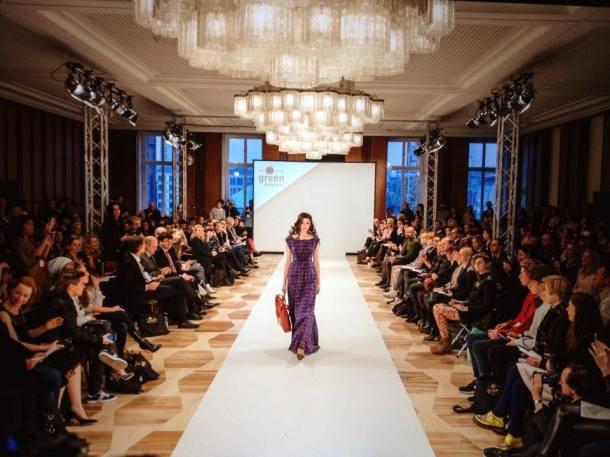 Salon show at the Greenshowroom during the 2014 Berlin Fashion Week. Photo via Greenshowroom.