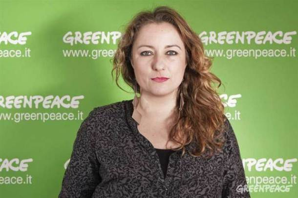 Greenpeace's Fashion Detox campaign manager Chiara Campione. Photo courtesy Greenpeace.