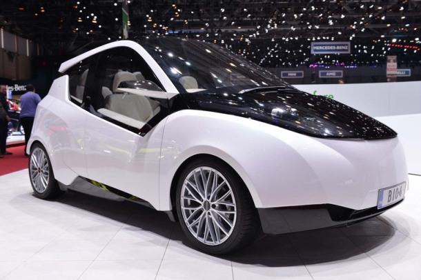 Metropolia Biofore concept car at the 2014 Geneva Motor Show. Photo courtesy salon-auto.ch