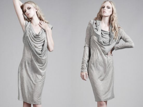 Tencel jersey dress. Photo via OASAP.