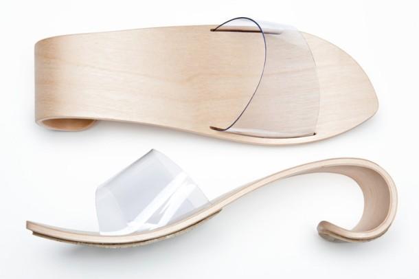 Wave shoe by Finnish designer Marita Huurinainen. Photo via Marita Huurinainen.