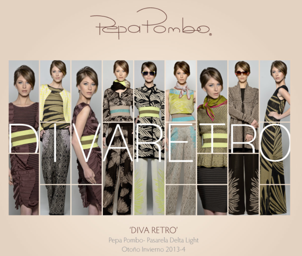 Diva Retro collection by Colombian-Mexican brand Pepa Pombo.