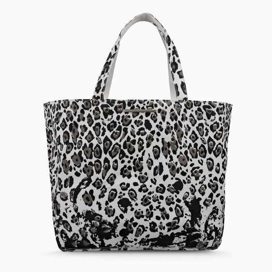 Stella McCartney's Noemi Leopard Print Tote made with the UN Ethical Fashion Initiative.