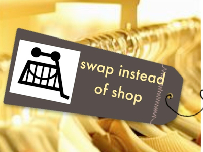 Shwopping - or clothes swapping - is a growing trend that supports a 'sharing economy'.