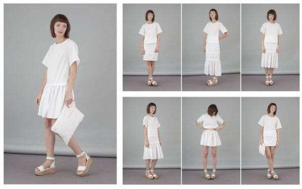 Transformable clothes by Flavia La Rocca. Photo via flavialarocca.com