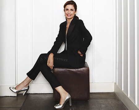 Livia Firth is the founder of Eco-Age. Photo via Country & Townhouse.