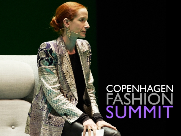 Vanessa Friedman is the fashion critic with The New York Times. Photo via Copenhagen Fashion Summit.