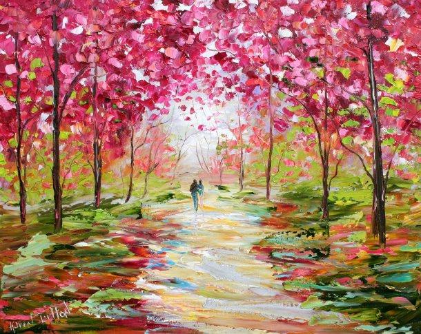 Spring Romance by Karen Tarlton via etsy.com