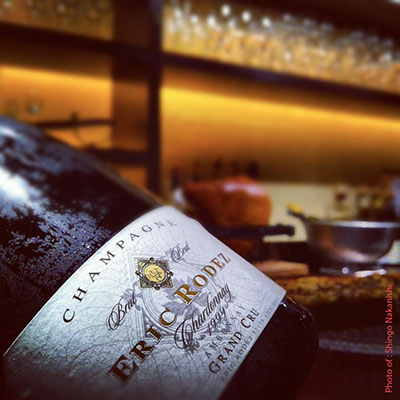 Eric Rodez produces 100% certified organic Champagne.