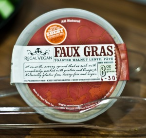 Faux Gras is a humane alternative to the festive treat.