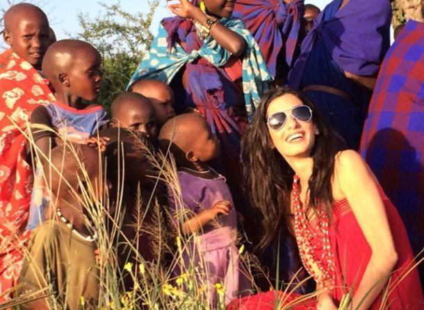 Lebanese-British lawyer Amal Clooney in Tanzania.
