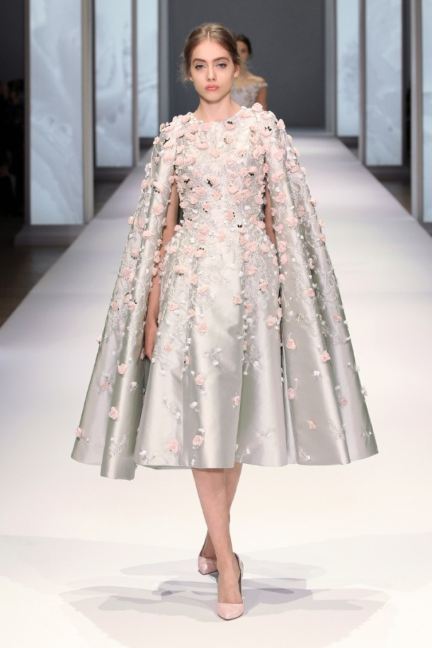 Ralph & Russo's The Awakening of Flora SS 2015 collection. Photo via Ralph & Russo website.