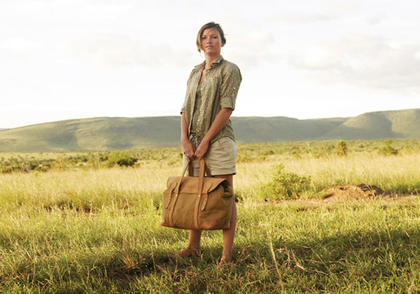 Long weekender bag by Sandstorm Kenya.