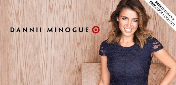 Dannii Minogue designed Target's petite range.