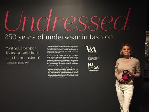 Green Stilettos at the Undressed exhibition in Sydney.