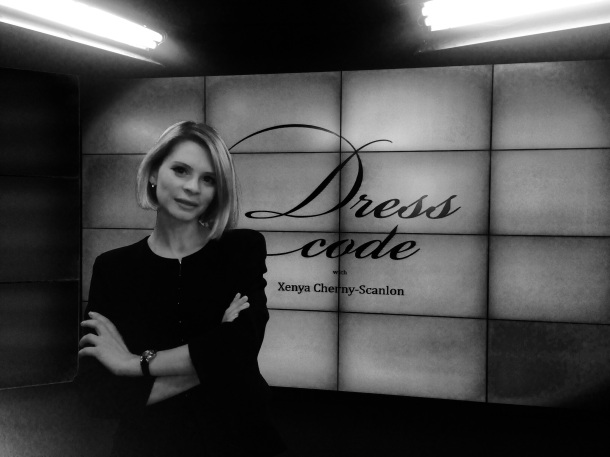 Green Stilettos Founder Xenya Cherny Scanlon presents Dress Code on Dukascopy TV