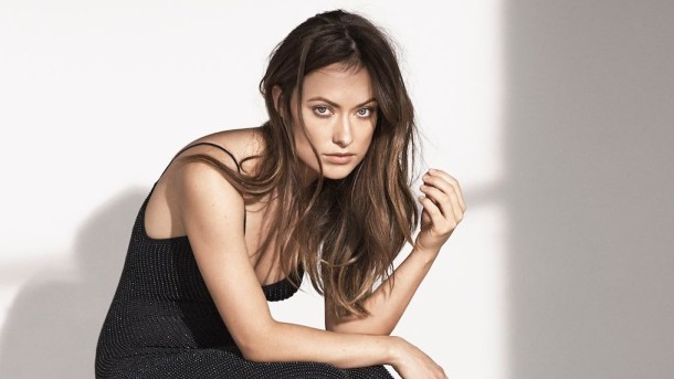 Olivia Wilde is the face of H&M's 2015 Conscious Exclusive collection. Photo via H&M.