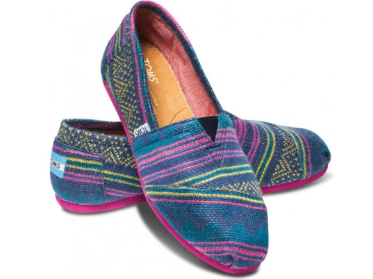 TOMS has pioneered the One for One business model. Photo via TOMS.