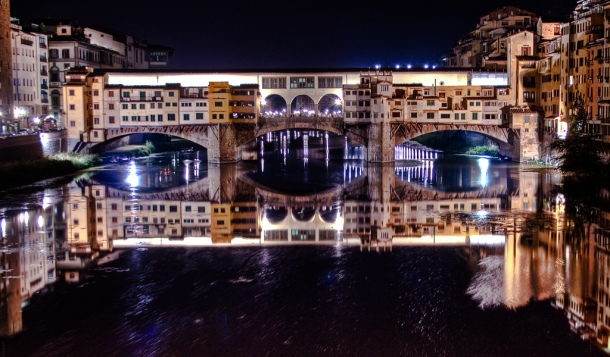 Iconic Ponto Vecchio in Florence. Photo courtesy Visit Tuscany.