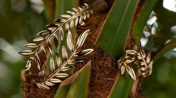 Chopard launched its Palme Verte in collaboration with Eco-Age. Photo via Chopard.