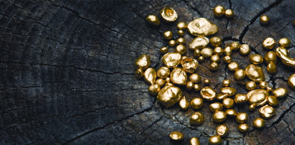 Not just bananas or flowers. In 2014, FairTrade Switzerland launched its gold certification. Photo via FairTrade.