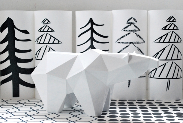 Koguma polar bear piggybank. Photo courtesy sospecies.org