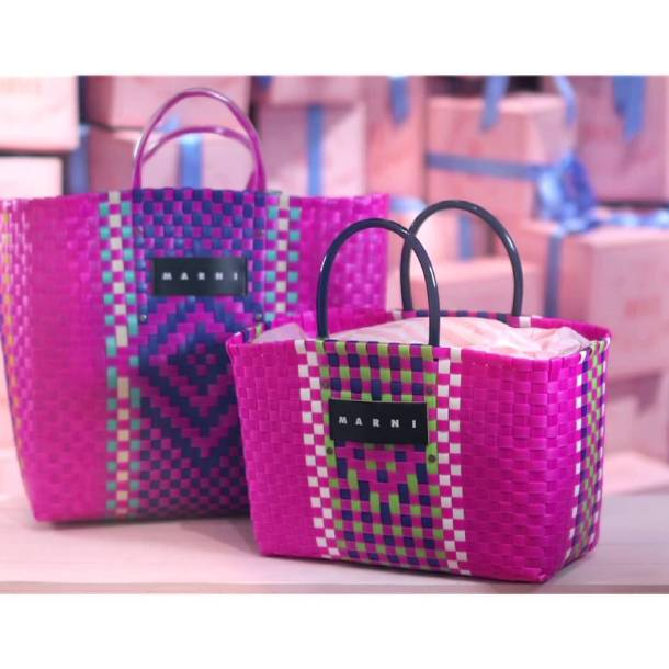 Marni Charity Bags limited edition 2015. Photo via YouTube.com