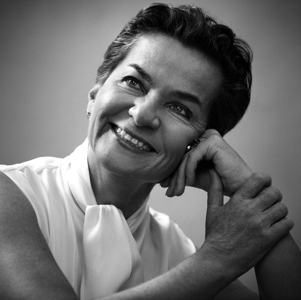UN Climate Change chief Christiana Figueres was among VOGUE's climate warriors. Photo via vogue.com