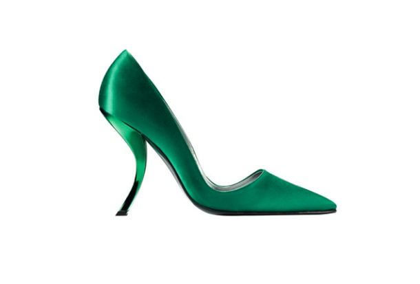 Roger Vivier is known for inventing the 'comma' heel.